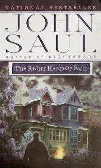 Book Cover for The Right Hand of Evil by John Saul