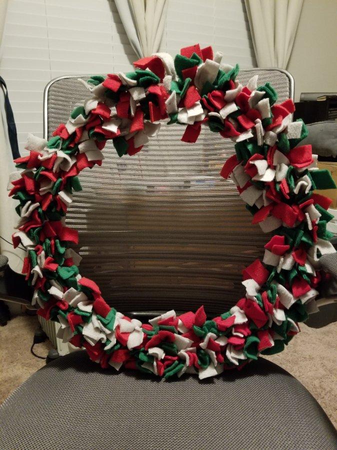 Door Wreath DIY