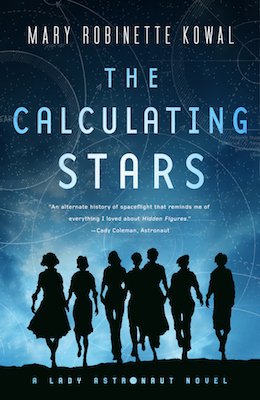 Cover image of The Calculating Stars by Mary Robinette Kowal