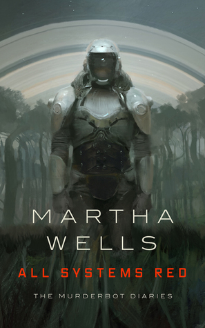 cover mage for All Systems Red by Martha Wells