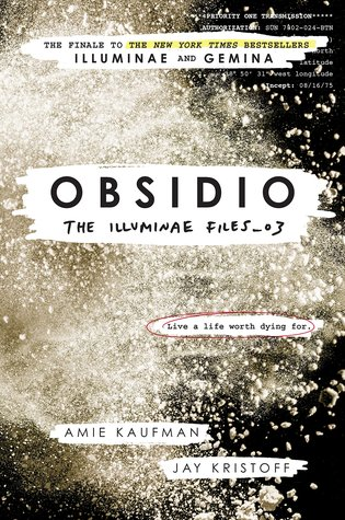 Cover for Obsidio
